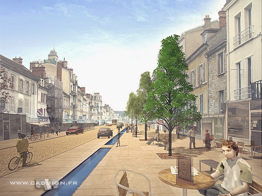 Urbanisme Fontainebleau Infographie3d