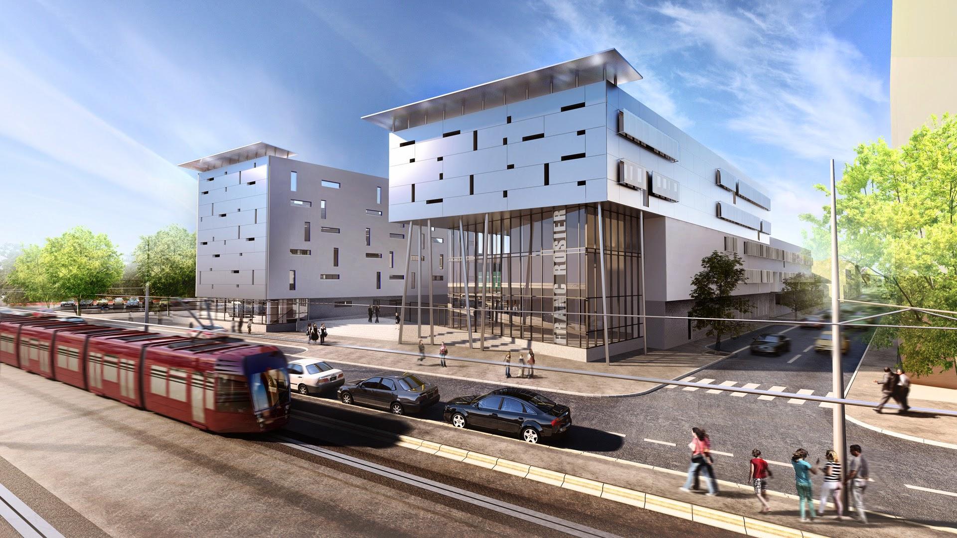Architecture 3d Franc Rosier
