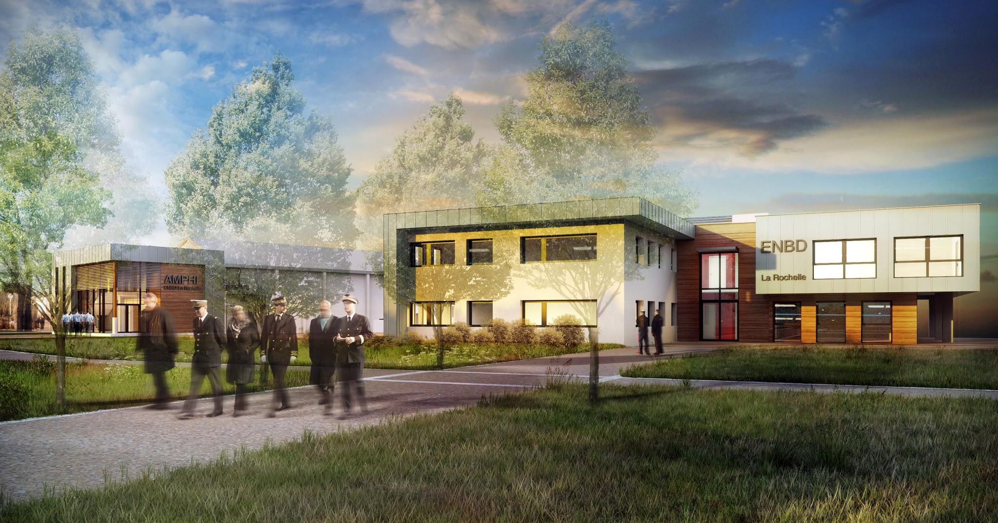 Architecture École Nationale des douanes