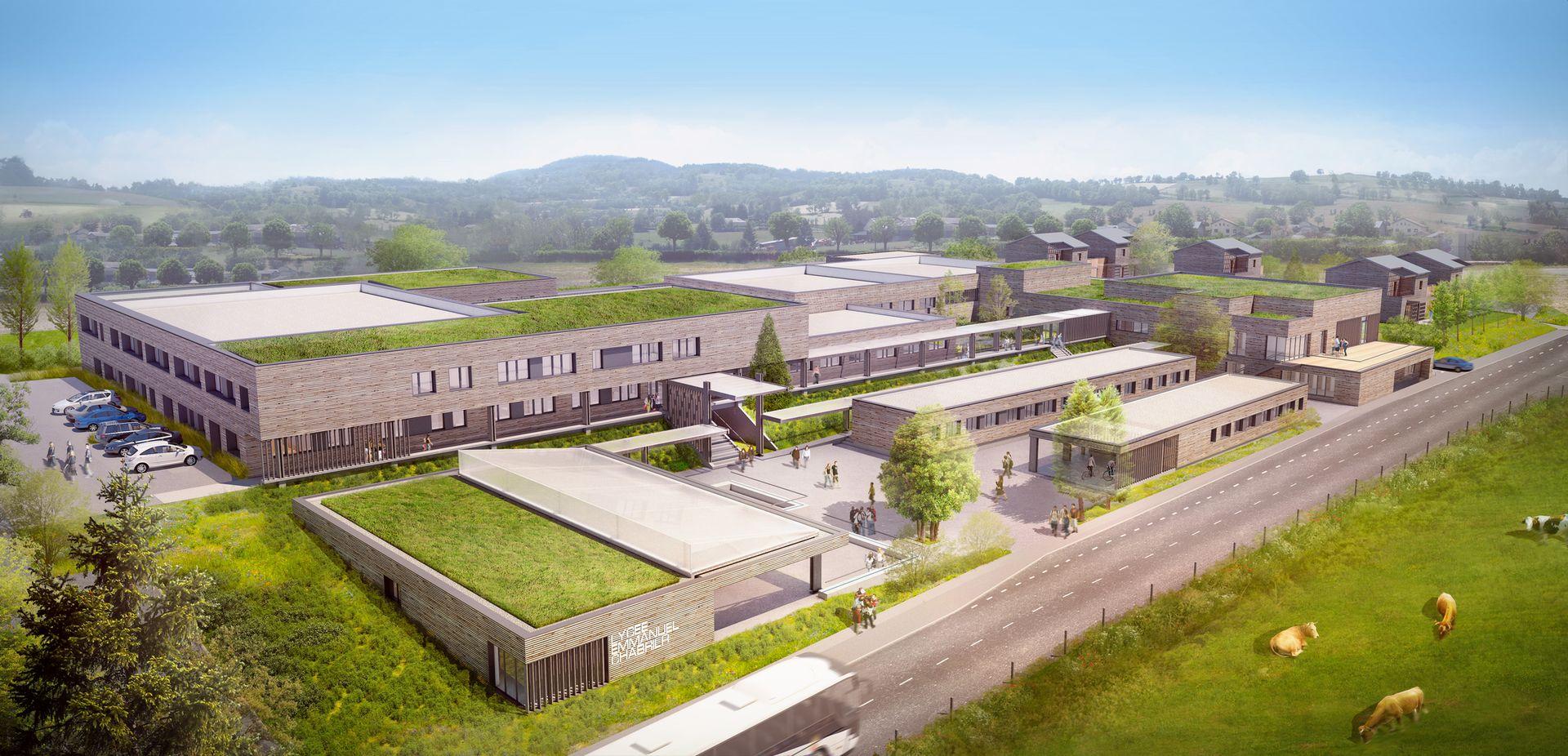 Lycée-Yssingeaux-Axonométrie