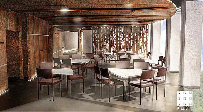 Perspective 3d Concours Restaurant