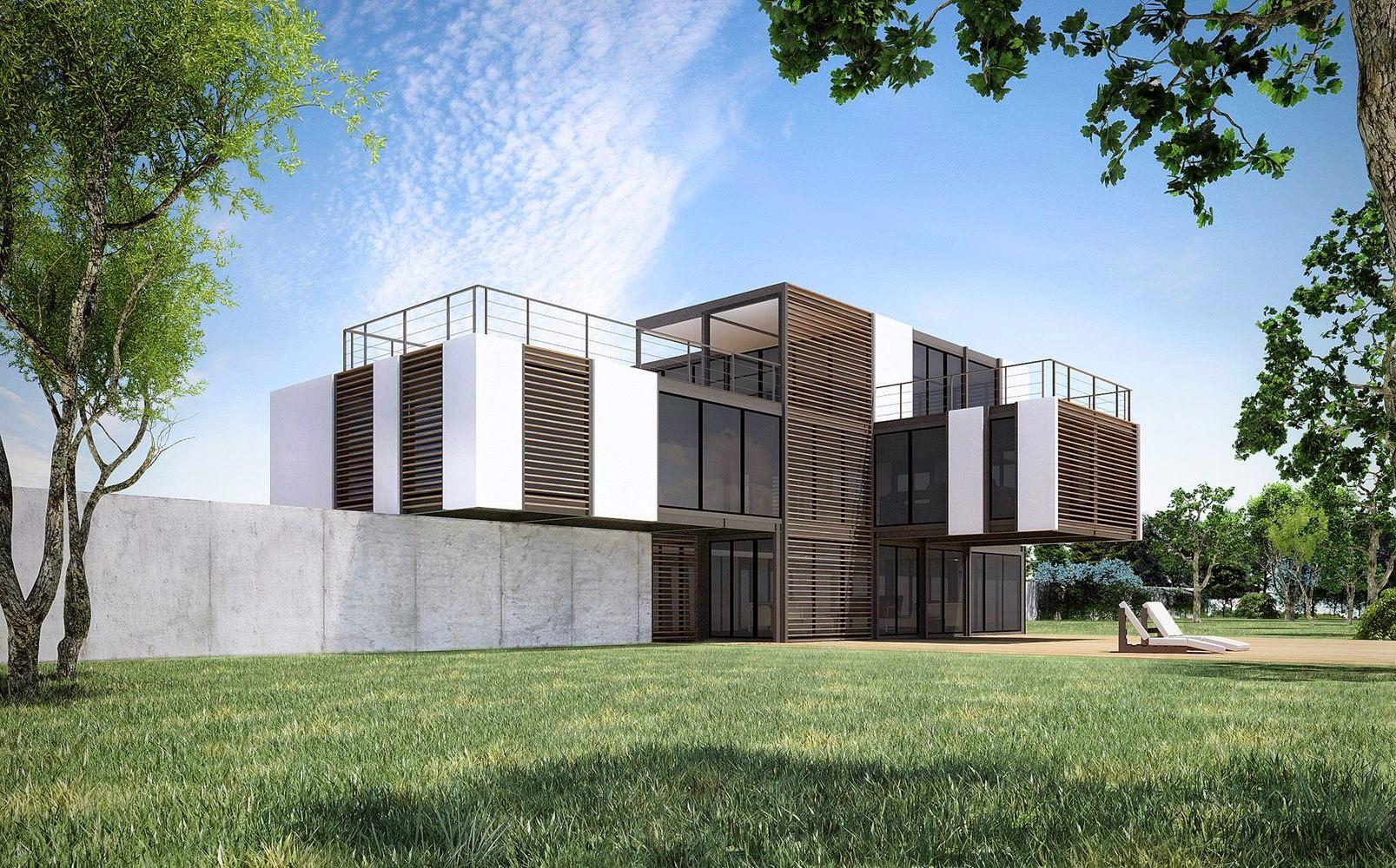 Perspective Maison Architecte