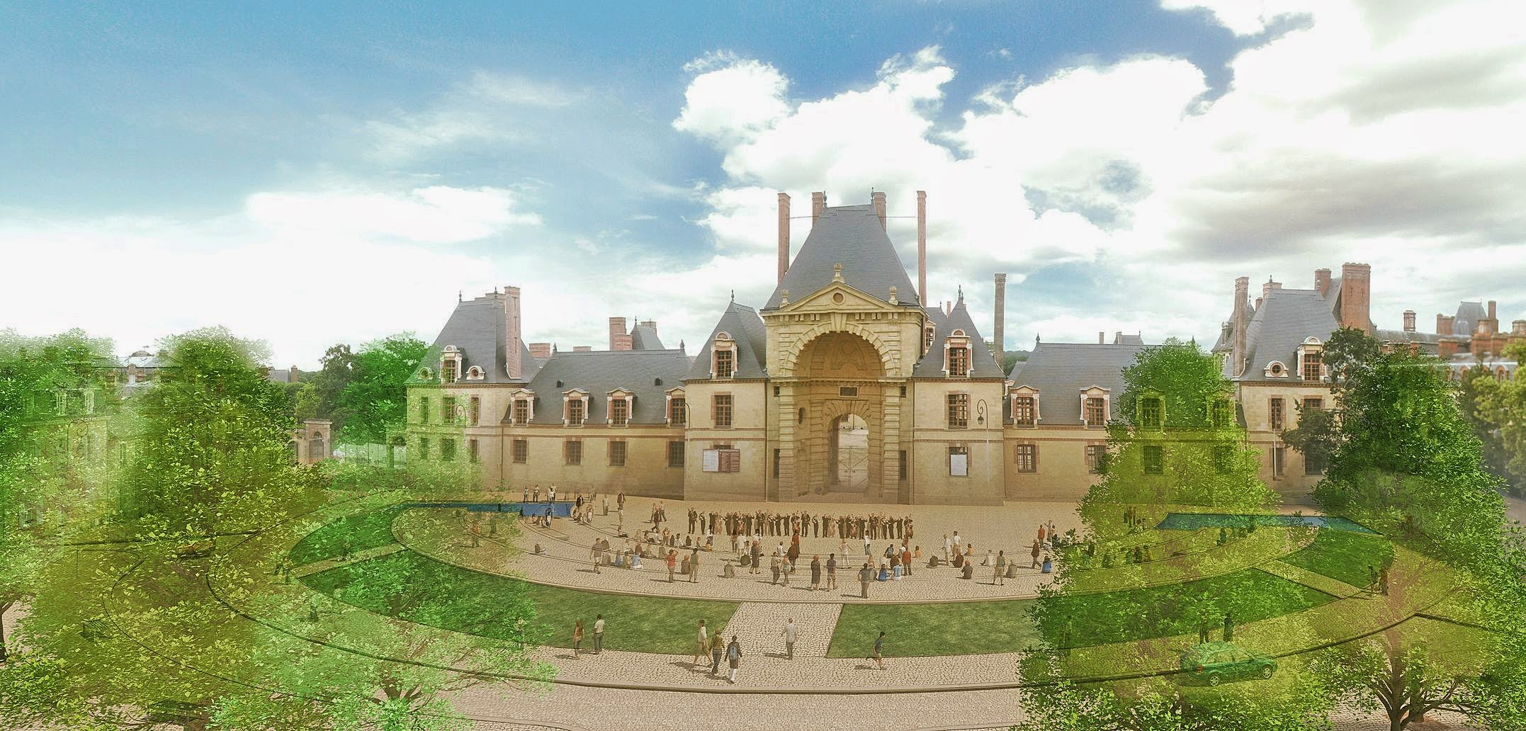 Urbanisme Fontainebleau Château