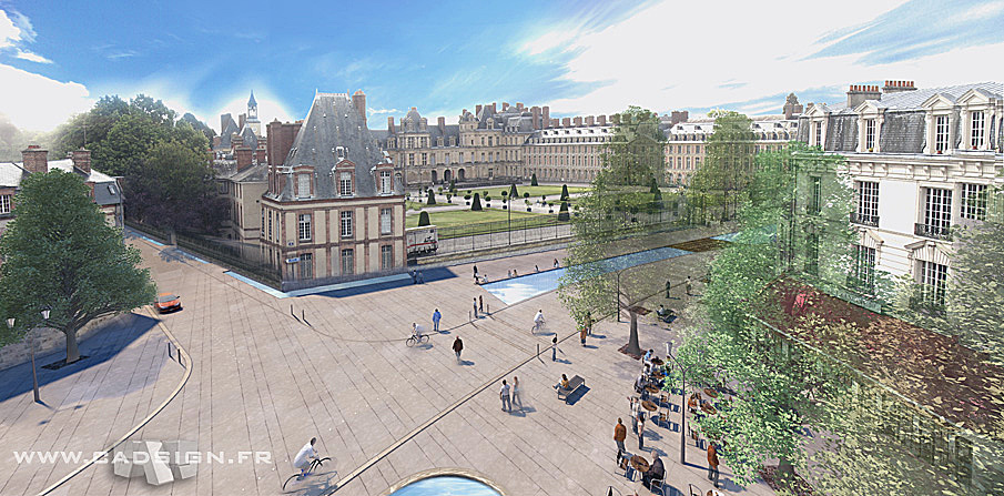 Urbanisme Fontainebleau Place