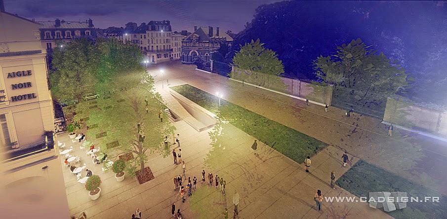 Urbanisme Perspective Fontainebleau